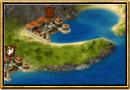 Zrzut ekranu z Grepolis - Mapa